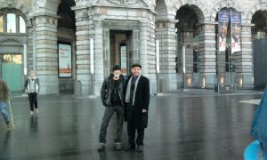 Gordon and Dave in Brussels
